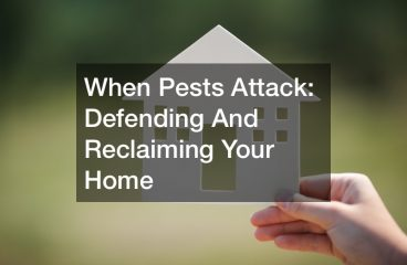 When Pests Attack: Defending and Reclaiming Your Home
