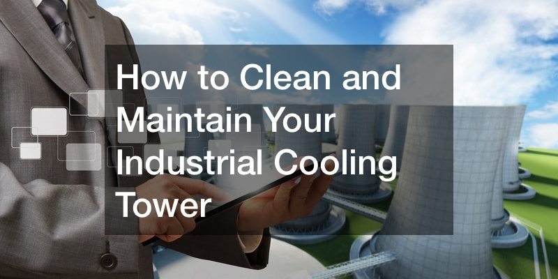 cooling tower maintenance plan
